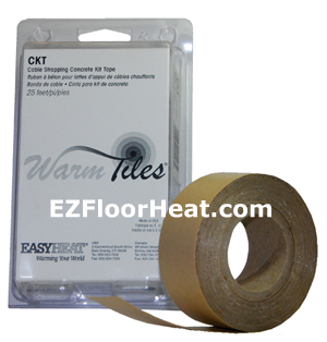 CKT Concrete Tape Kit (25 ft/roll)