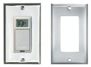 Digital Timer w/ White Cover Plate