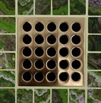 E4408 Brushed Bronze Grate