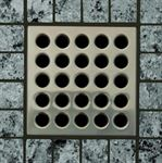 E4404 Brushed Nickel Grate