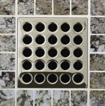 E4409 Polished Nickel Grate