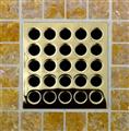E4402 Polished Brass Grate