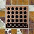 E4406 Polished Copper Grate