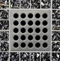 E4410 Satin Nickel Grate