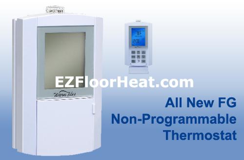 FG Dual Voltage 120/240 Vac Non-Programmable Thermostat