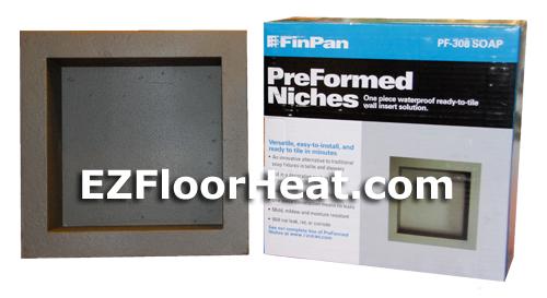 PreFormed™ PF308 Soap Niche